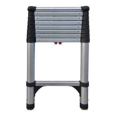 Scala ad appoggio alluminio 9 gradini, per lavori fino a 3,6 m