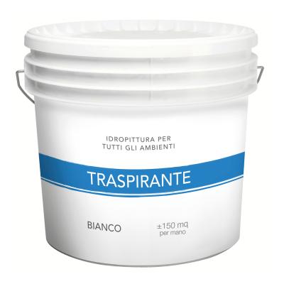 Idropittura traspirante bianca 14 L