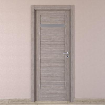 Porta da interno battente Capena 2 sabbia 70 x H 210 cm sx