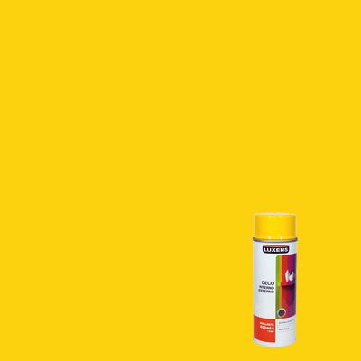 Smalto spray Deco Luxens giallo traffico RAL 1023 brillante 400 ml