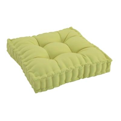 Cuscino seduta verde chiaro 60 x 60 cm