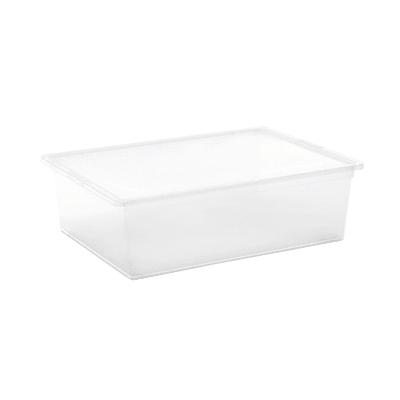 Scatola C-Box L L 55 x P 38,5 x H 16,5 cm trasparente