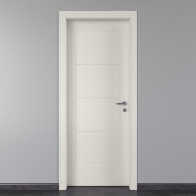 Porta da interno battente Ribera 90 x H 210 cm sx