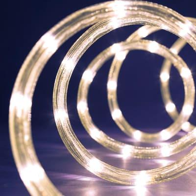 Tubo luminoso 216 minilucciole Led bianca fredda 9 m