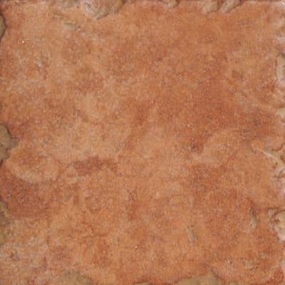 Piastrella Perù 10 x 10 cm rosso