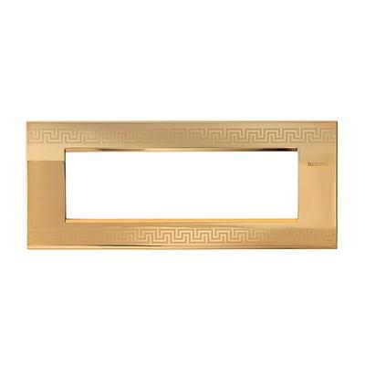 Placca 7 moduli BTicino Livinglight Air greek