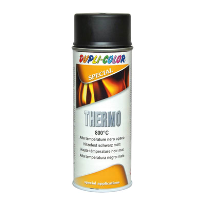 Smalto spray Thermo alte temperature nero opaco 400 ml