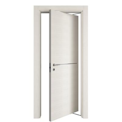 Porta da interno rototraslante hollow bianco matrix 80 x h 210 cm dx prezzi e offerte online - Porta rototraslante prezzi ...