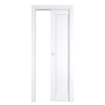 Porta da interno scorrevole Atria bianco 70 x H 210 cm reversibile