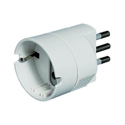 Adattatore S3623DE semplice 10A, BTicino bianco