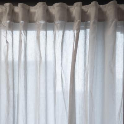 Coppia di tende Tilde grigio 148 x 294 cm