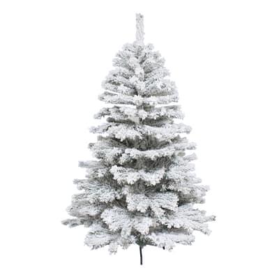 Albero di Natale artificiale Super Snow King H 180 cm