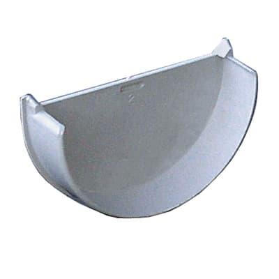 Tappo per canale di gronda in plastica Ø 9,5 cm