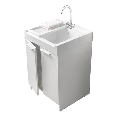 Mobile lavatoio Evo bianco L 60 x P  50 x H 84 cm