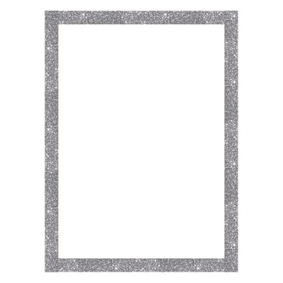 Cornice Brilla argento 50 x 70 cm