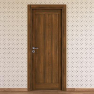 Porta da interno battente Sargas noce 60 x H 210 cm dx