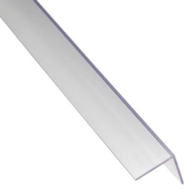 Profilo angolare a l in pvc prezzi e offerte online for Profilo alluminio led leroy merlin
