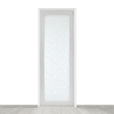 Tendina a vetro per portafinestra Roundy bianco 60 x 240 cm