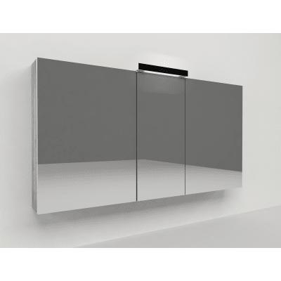 Specchio contenitore Key L 120 x H 62 x P  15 cm larice