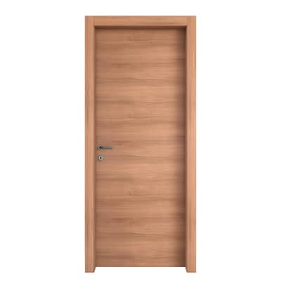 Porta da interno battente Degas noce 60 x H 210 cm reversibile