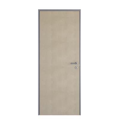 Porta da interno battente Pollock filomuro grezza 60 x H 210 cm reversibile
