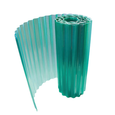 Rotolo ondulato Onduline Onduclair Plr verde in poliestere 500 x 200  cm, spessore 1 mm