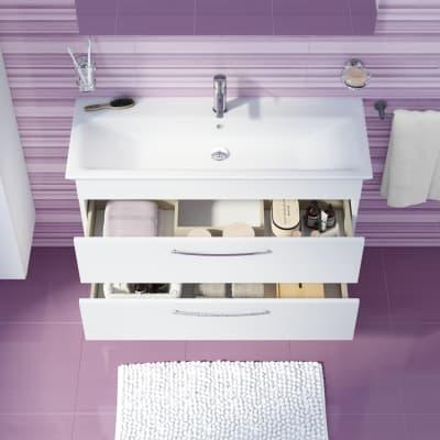 Mobile bagno Giò bianco L 105 cm