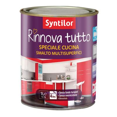 Smalto rinnova tutto syntilor vaniglia opaco 1 l prezzi e offerte online leroy merlin - Syntilor rinnova tutto bagno ...