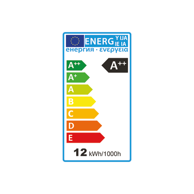 3 lampadine LED E27 =100W goccia luce calda 360°