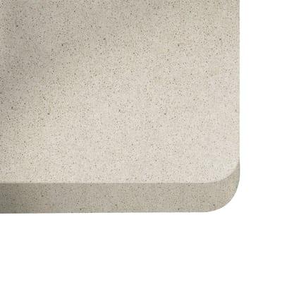 Piano cucina su misura quarzo Blanco city 3 cm