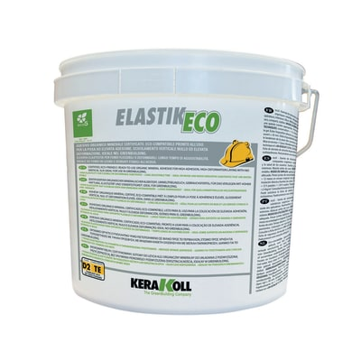 Colla in pasta Kerakoll Elastik D2 bianco 20 kg