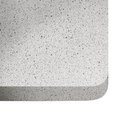 Piano cucina su misura quarzo Blanco stellar 2 cm
