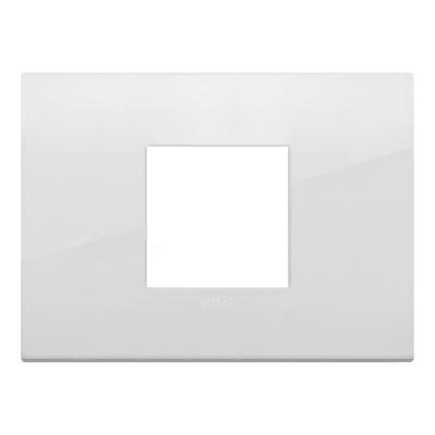 Placca 2 moduli Vimar Arké polar