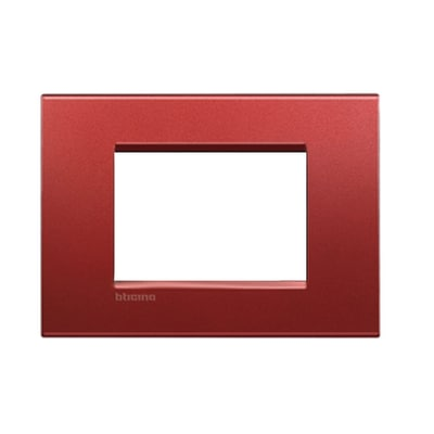 Placca 3 moduli BTicino Livinglight brick