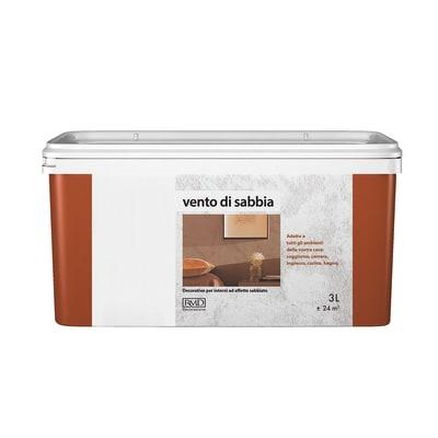 Pittura Ad Effetto Decorativo Vento Di Sabbia Silver 3 L Prezzi E