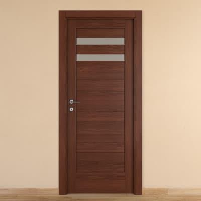 Porta da interno battente Malawi 2 80 x H 210 cm dx