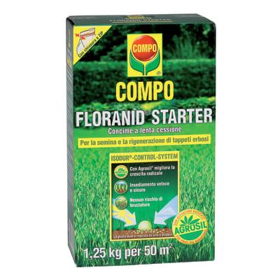 Concime per prato Floranid Starter Compo 1,25 kg