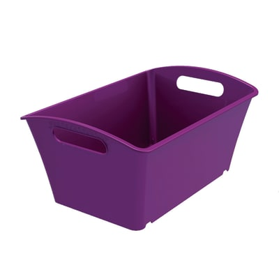 Cesta Q-In Box 12 L L 39 x P 27,1 x H 18,6 cm assortiti