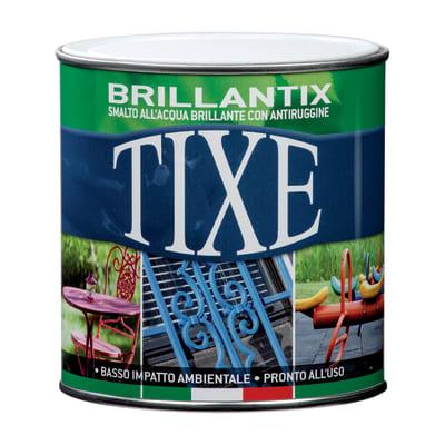Smalto per ferro antiruggine Tixe Brillantix grigio brillante 0,25 L