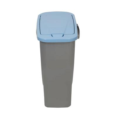 Pattumiera Ecobin 15 15 L grigio/blu