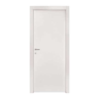 Porta da interno battente Strauss 80 x H 210 cm reversibile