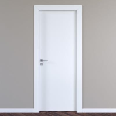 Porta per hotel battente Radisson white bianco 60 x H 210 cm dx