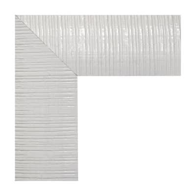 Specchio da parete rettangolare sibilla bianco 50 x 135 cm for Specchi da parete leroy merlin
