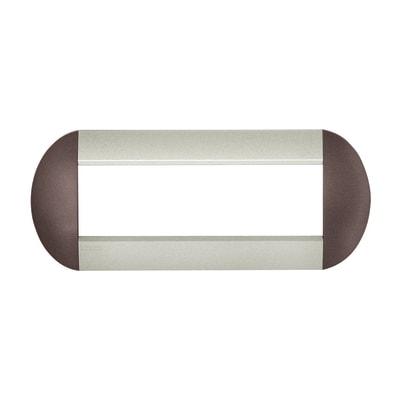 Placca 7 moduli BTicino Livinglight bronze