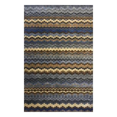 Tappeto Diana multicolore 133 x 190 cm