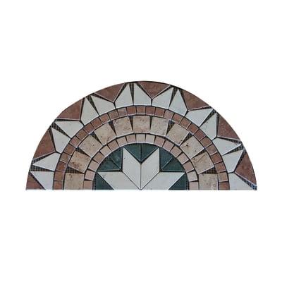Composizione decorativa Ventaglio Ancona multicolor 30 x 60 cm