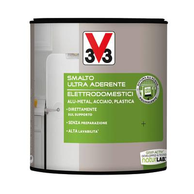 Smalto elettrodomestici v33 nero satinato 0 5 l prezzi e offerte online leroy merlin - Smalto piastrelle v33 ...
