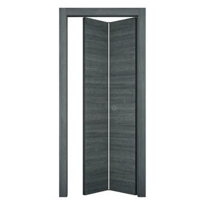 Porta da interno pieghevole Starwood pietra 80 x H 210 cm sx