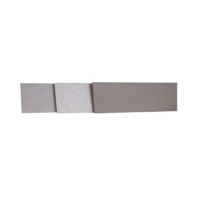 Alzatina su misura Alpaca laminato grigio H 10 cm