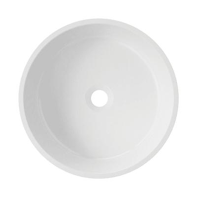Lavabo da appoggio tondo Bari ø 38 x 12 cm